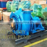 Horizontal centrifugal sand dredging gravel pump