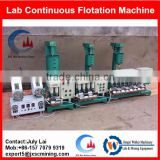 self-suction agitated continuous flotation machine,small flotation cell for laboratory test work