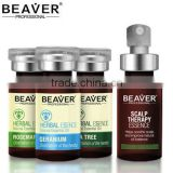 2014 new BEAVER brand dry scalp geranium essential oil hair spa treatment