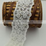 29yards Cream white cotton Embroidery net Lace Water Soluble Lace Trim Ribbon wide 8cm