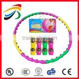 2016 Body Health Hula Hoop for weighted Exercise magnetic massage Hula Hoop