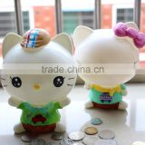 Custom Design Kids PVC Cat Money Box (LJ1020)