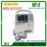 7inch LCD Display Biphasic Defibrillator/Defibrillator Price MSL8000C-4