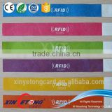 125k hz Dupont paper RFID wristband with Hitag2 chip rfid bracelet