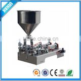 1000-5000ml double heads Pneumatic Soldering Paste Filling Machine, Semi-auto Hopper Type Paste Filler