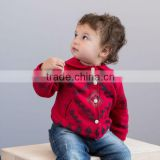DB1607 davebella 2014 winter wholesale infant coat babi clothing chenillie jacket baby fashion outwear clothes