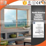 2016 wood clad aluminium alloy sliding window by windows and doors drawing                                                                                                         Supplier's Choice