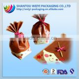 wholesale candy flowers bag/plastic bag for candy/plastic packaging bag for cotton candy