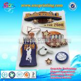 Basketball picture new arrival 3d wall stickers home decor 3d door sticker
