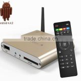 Quadcore mini pc S805 Kodi Addons preinstalled android smart media player Customed streaming player H.265 IPTV Box Online channe