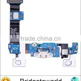 Mobile phone USB charger dock spare part charging port flex cable ribbon for Samsung galaxy s6 edge plus