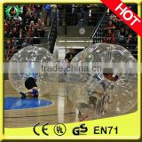 High quality PVC/TPU inflatable soccer bubble,inflatable human soccer bubble,inflatable plastic bubble