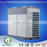 Air exchanger with hydrophilic coating 10.5KW rated heating refrigeration and air conditioning compressors rotate type