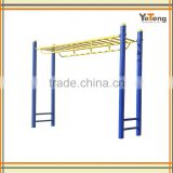Outdoor fitness equipment monkey bars for adult exercise