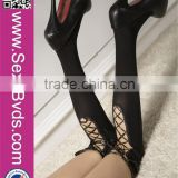Fashion Women Japanese Stocking Knee High Silk Stockings Sexy Black Stocking