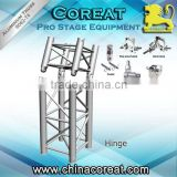 coreat aluminum Truss Hinge Junction Camco Truss Connection for outdoor stage , for show, performance
