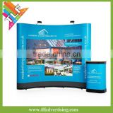 Functional magnetic pop up display banner stand for promotion