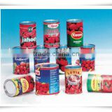 Top quality canned chopped tomatoes