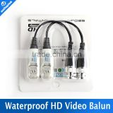 HD Transceivers Adapter Transmitter Cat5 Video CCTV Balun Support 720P/1080P AHD/CVI/TVI Camera