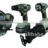 18V cordless Tool 4 in 1 tool kits