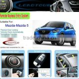 Car Manufacturer Multi-function One Way Car Alarm System and Push Button Start for Mazda-Mazda 5