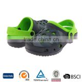 2016 new sale online China green and black durable antislip men eva shine garden shoes limited