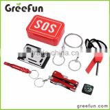 SOS Pocket Scale Rescue Tools Kit Set Mountain Climbing Tool For First Aid Kit Survival Kit In China