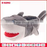 Very comfortable soft stuffed animal plush shark toy slippers                                                                         Quality Choice