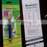 water based banknote detector pen