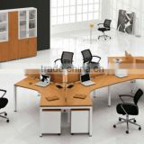 2012 modern furniture office workstation for 6 person