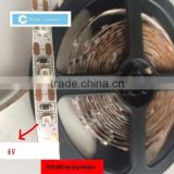 High quality smd 3528 6v led strip 6v led waterproof light strip