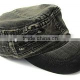 Hot Sale Cotton Flat-top Cap Military Style Baseball Cap