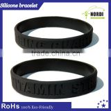 Make rubber band bracelet World cup bracelet promotion printed silicone rubber bracelets