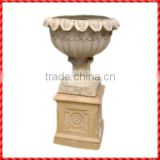 Hot sale terracotta custom outdoor tall wholesale planters and pots