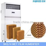9KG/H Wet Film Malaysia Humidifier Industrial with CE