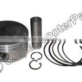 87.5MM 23MM Piston kit CFMOTO 500 ATV UTV 500cc CF188 LINHAI LH188MR ENGINE PISTON KIT ASSEMBLY PISTON RINGS
