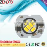 6w 2w bulb candle light constant current driver on board triac dimmable 110v 220v input long life high lumen cob ac chip