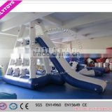 Lilytoys top hot welding SGS inflatable floating water slide, inflatable stair water slide