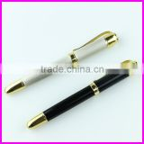 White and classic black barrel copper roller ink pen and heavy metal pens for wedding souvenirs