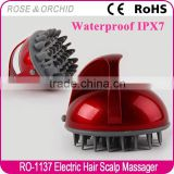 Alibaba china electrical massage shower head brush for scalp cleansing