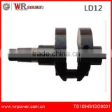 OEM of durable quality LAIDONG engine spare parts LD12 Crankshaft for small tractors and trucks