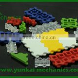 Food class plastic molding injection parts, ABS PMMA PP ABS cover parts, plastic molding parts
