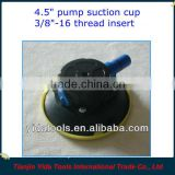 4.5inch vacuum cup mount with 3/8-16 threaded insert