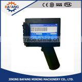 High quality hand held ink jet printer for coding printing