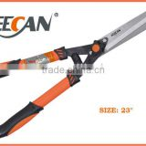 Gardening tool steel handle manual hedge shears