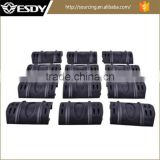 ESDY Black Color 12 Pack Rubber Snap On Protective Hand Rail Rifle Paintball Airsoft Rail Covers
