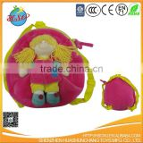 wholesale plush doll baby carrier backpack
