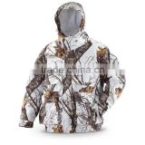 2016 White CAMO Hunting Jacket with battery heated