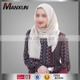 Grey Linen Muslim Hijab Fashion Turban Islamic Dubai Arab Scraf Gender Women Wholesale Online