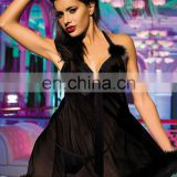 Women Erotic Lingerie Nightwear with G-string Sexy Sheer Transparent Chemise&Babydoll